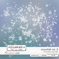 Snowfall Vol. 3 CU by Lara�s Digi World