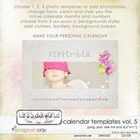 2014 Calendar Templates Vol. 5