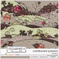 Cardboard Passion Borders by Lara�s Digi World
