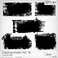 Clipping Masks Vol. 18