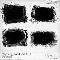 Clipping Masks Vol. 19