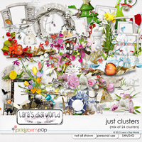 Just Clusters by Lara�s Digi World
