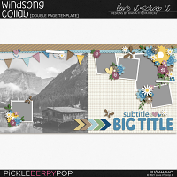 Windsong Templates by Love it Scrap it Designs