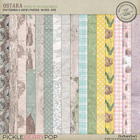 Ostara Patterned And Artsy Papers