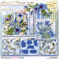 Among the flowers - Bundle (Jasmin-Olya Designs)