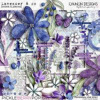Lavender & co - words & pieces
