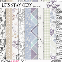 LET'S STAY COZY   patterns by Bellisae