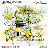 Peaceful and calm-Artsy & Clusters