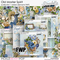 Old Master Spirit (collection and addon elements free with purchase)