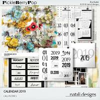 2019 Calendar All in One