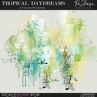 Tropical Daydreams ~ art transfers