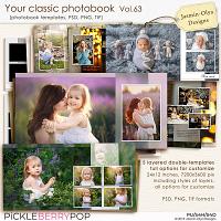 Your classic photobook Vol.63 (Jasmin-Olya Designs)