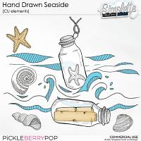Hand Drawn Seaside (CU elements) by Simplette