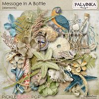 Message In A Bottle Elements