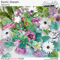 Exotic Dream (elements) by Simplette