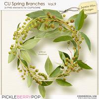 CU Spring branches Vol.9 (Jasmin-Olya Designs)