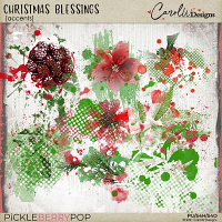 Christmas Blessings accents