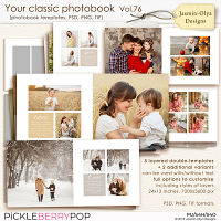 Your classic photobook Vol.76 (Jasmin-Olya Designs)