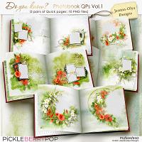 Do you know - Photobook QPs Vol.1 (Jasmin-Olya Designs)