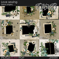 Love sewing - quick pages
