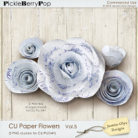 CU Paper Flowers Vol.5 (Jasmin-Olya Designs)
