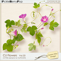 CU Flowers Vol.33 (Jasmin-Olya Designs)
