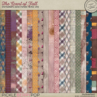 The Scent Of Fall Patterned And Artsy Papers