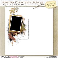 November 2020 Templates challenge (Jasmin-Olya Designs)