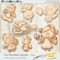 CU Wooden figures Vol.1 (Jasmin-Olya Designs)