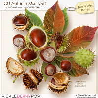 CU Autumn Mix. Vol.7 (Jasmin-Olya Designs)