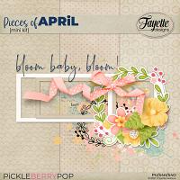 Pieces of April: Mini Kit