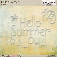 Hello Summer Alpha