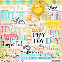Sunshiny Day: WordArt