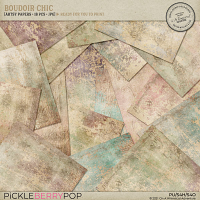 Boudoir Chic Printable Papers