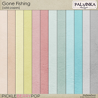 Gone Fishing Solid Papers