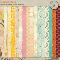 Spring Fever Patterned And Artsy Papers