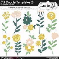 CU Doodle Templates 24
