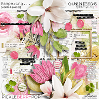 Pampering... - words & pieces