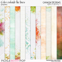 Color outside the lines - papers