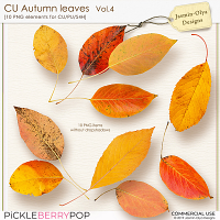 CU Autumn Leaves Vol.4 (Jasmin-Olya Designs)
