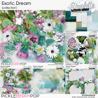 Exotic Dream (collection) by Simplette