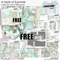 A Taste of Summer (collection with 2 FREE packs)