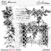 Old Memories-Stamp