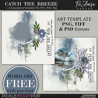 Catch The Breeze ~ Art Template 2