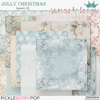 JOLLY CHRISTMAS PAPERS 2