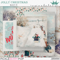 JOLLY CHRISTMAS PAPERS 1