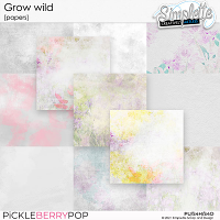 Grow wild (papers) by Simplette