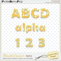 Beautiful summer - Alpha (Jasmin-Olya Designs)