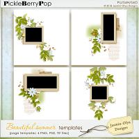 Beautiful summer - Templates (Jasmin-Olya Designs)