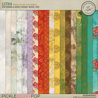 Litha Patterned And Artsy Papers